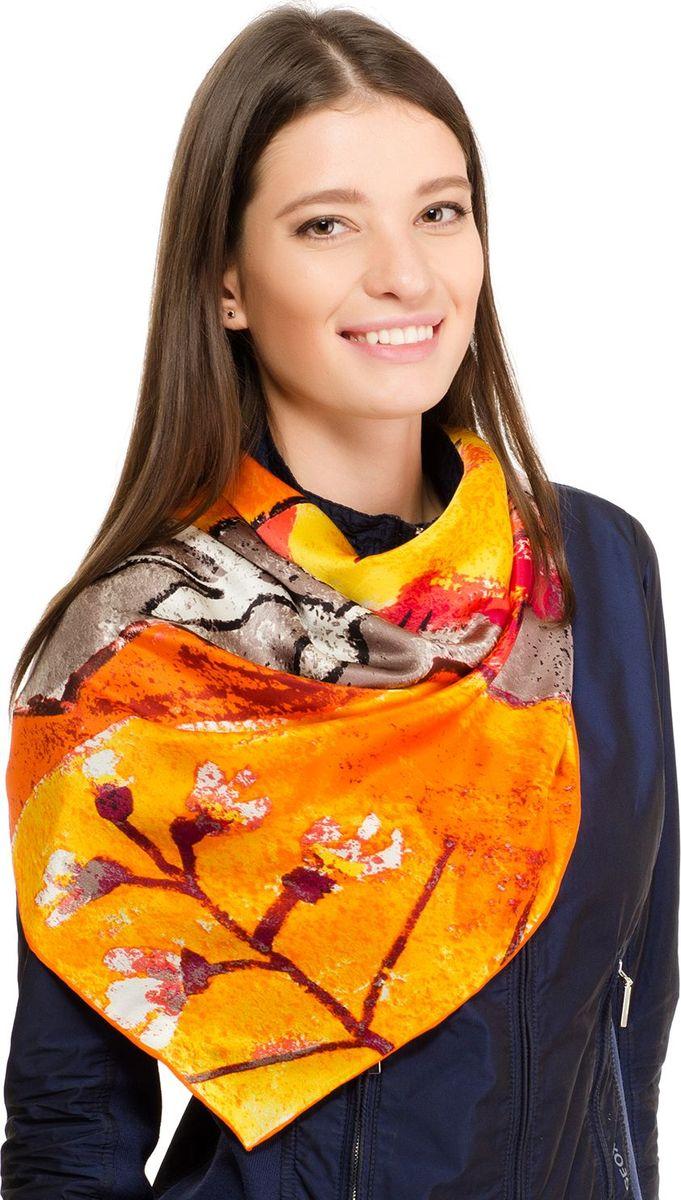 Платок женский Laccom, цвет: желтый. 1106. Размер 90 см х 90 см1106JПлаток от Laccom, выполненный из высококачественного материала, приятный на ощупь и подойдет к любому стилю.