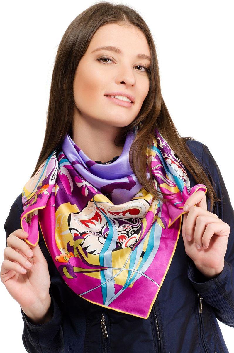 Платок женский Laccom, цвет: фуксия. 1109. Размер 90 см х 90 см1109NПлаток от Laccom, выполненный из высококачественного материала, приятный на ощупь и подойдет к любому стилю.