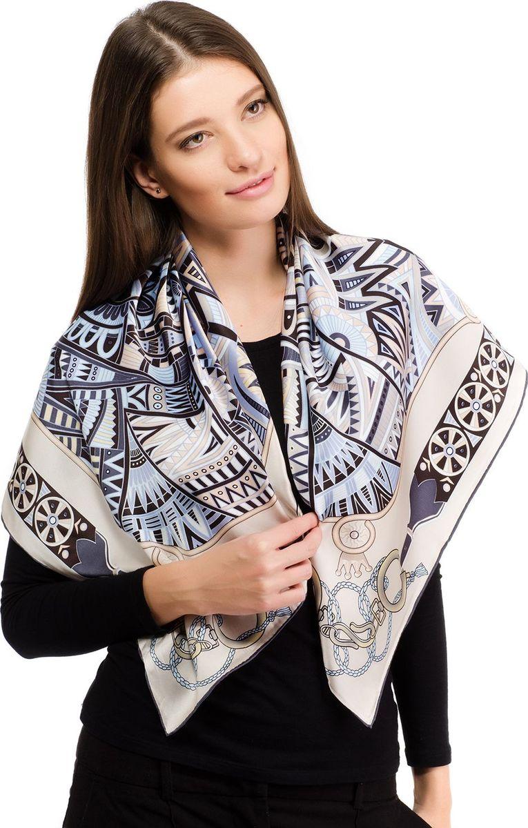Платок женский Laccom, цвет: серый. 1110. Размер 90 см х 90 см1110KПлаток от Laccom, выполненный из высококачественного материала, приятный на ощупь и подойдет к любому стилю.