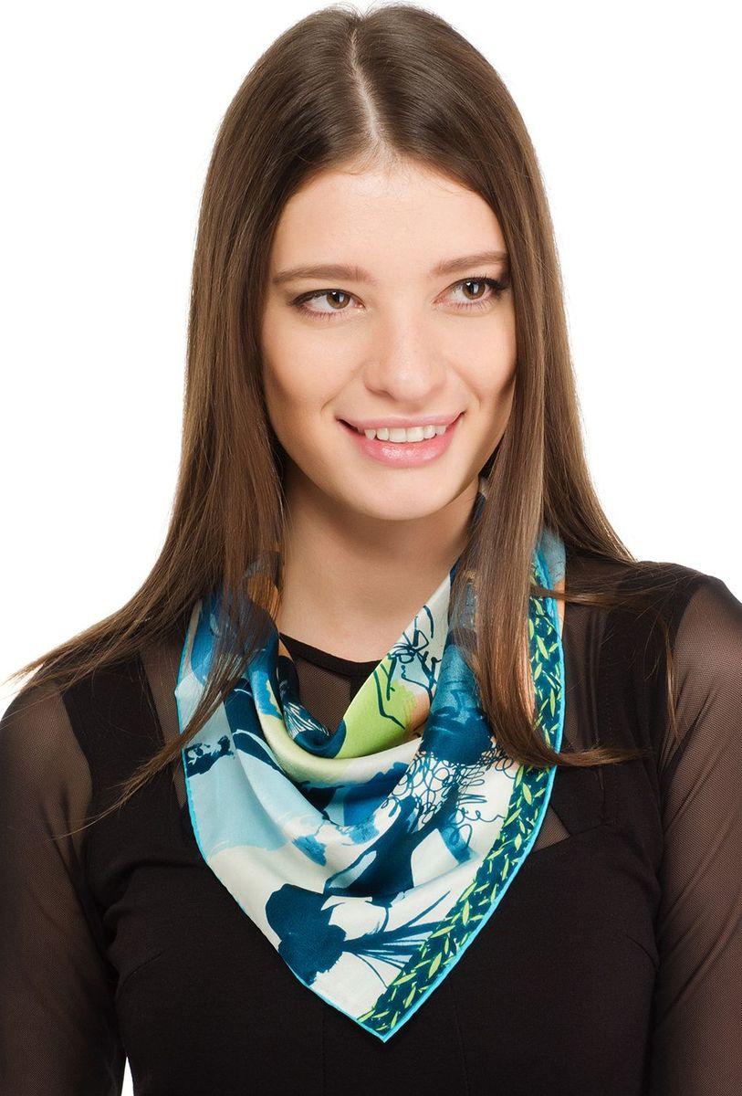 Платок женский Laccom, цвет: голубой. 2101. Размер 55 см х 55 см2101IПлаток от Laccom, выполненный из высококачественного материала, приятный на ощупь и подойдет к любому стилю.