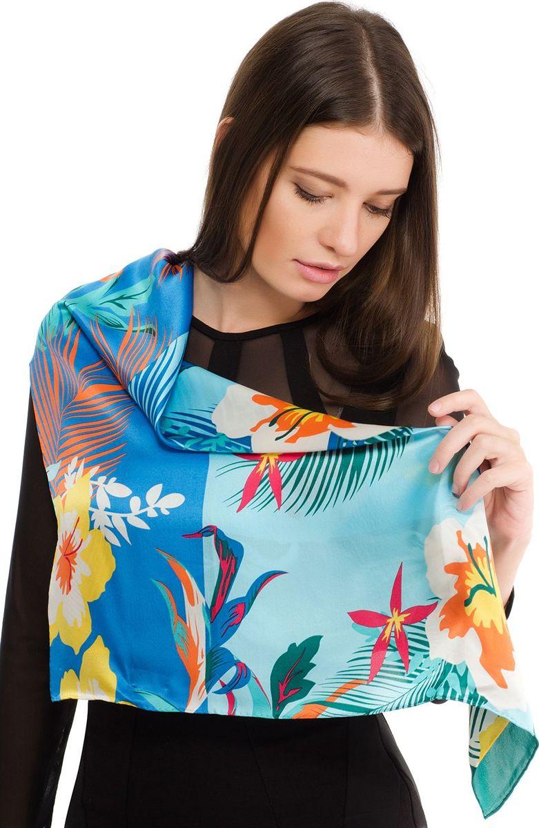Платок женский Laccom, цвет: бирюзовый. 2105. Размер 70 см х 70 см2105HПлаток от Laccom, выполненный из высококачественного материала, приятный на ощупь и подойдет к любому стилю.