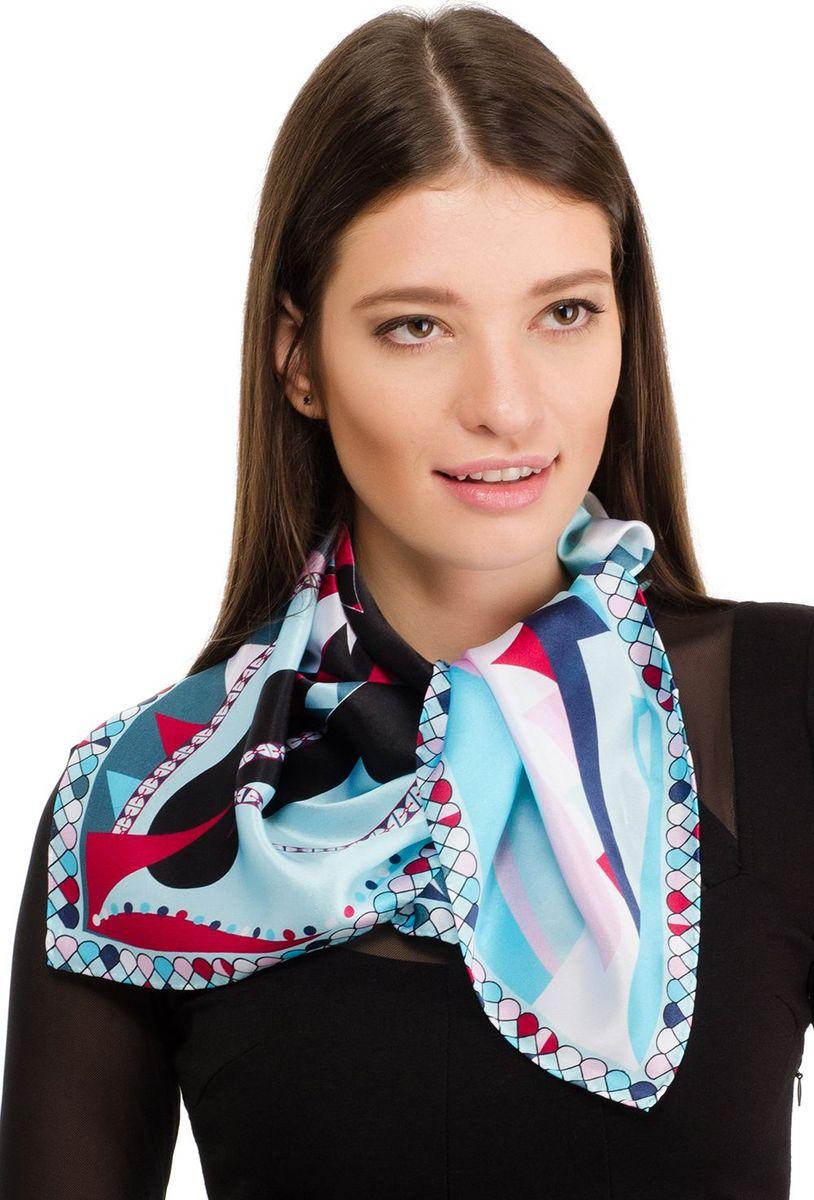 Платок женский Laccom, цвет: бирюзовый. 2106. Размер 70 см х 70 см2106HПлаток от Laccom, выполненный из высококачественного материала, приятный на ощупь и подойдет к любому стилю.