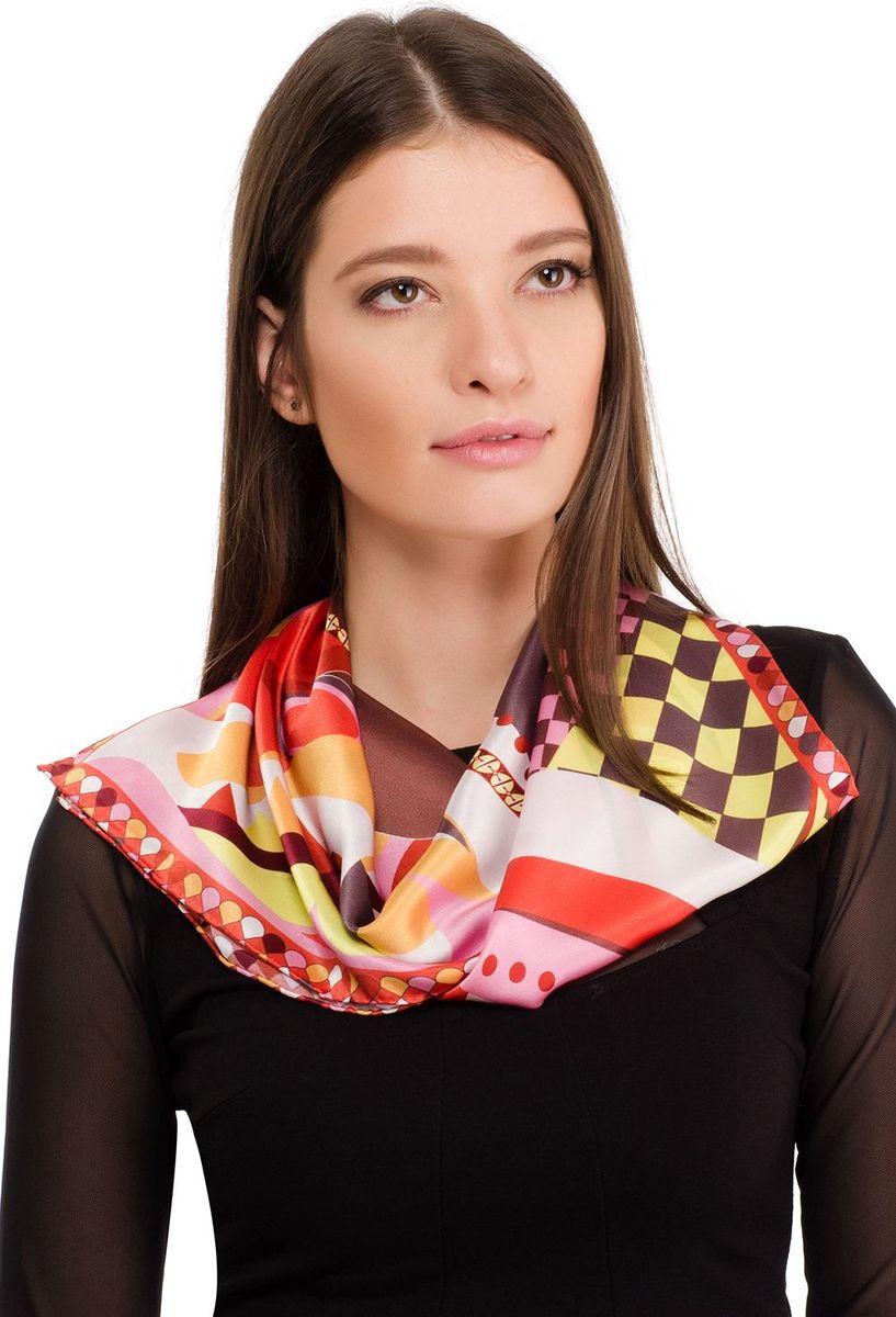 Платок женский Laccom, цвет: оранжевый. 2106. Размер 70 см х 70 см2106VПлаток от Laccom, выполненный из высококачественного материала, приятный на ощупь и подойдет к любому стилю.