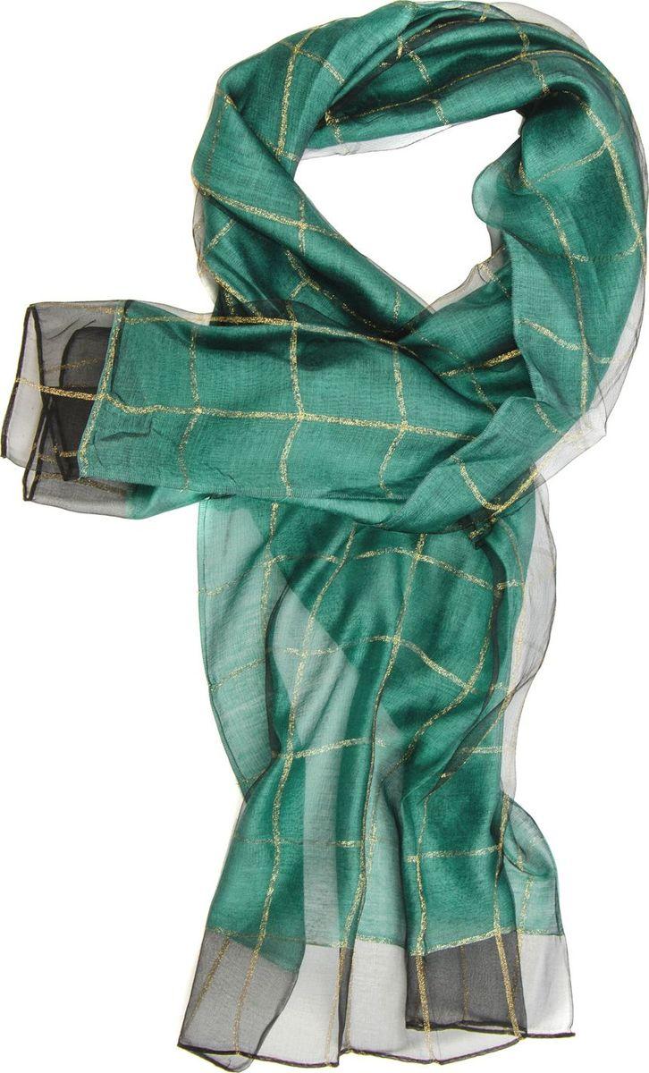 Палантин Laccom, цвет: бирюзовый. 3101. Размер 190 см х 70 см3101HПалантин от Laccom, выполненный из высококачественного материала, приятный на ощупь и подойдет к любому стилю. Палантин декорирован принтом в крупную клетку.