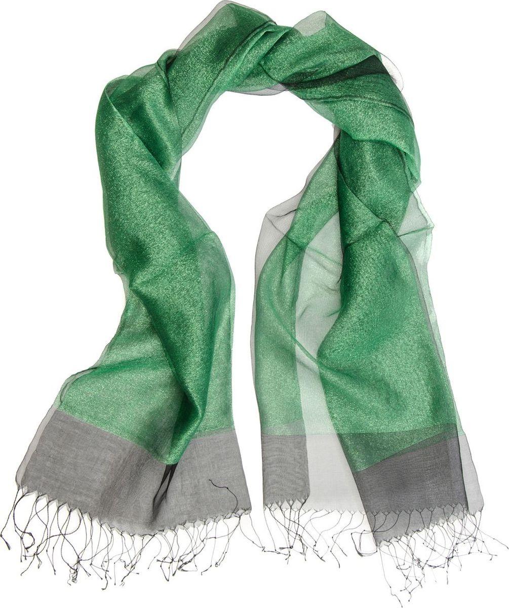 Палантин Laccom, цвет: зеленый. 3102. Размер 170 см х 70 см3102EПалантин от Laccom, выполненный из высококачественного материала, приятный на ощупь и подойдет к любому стилю. Палантин по краям дополнен бахромой.