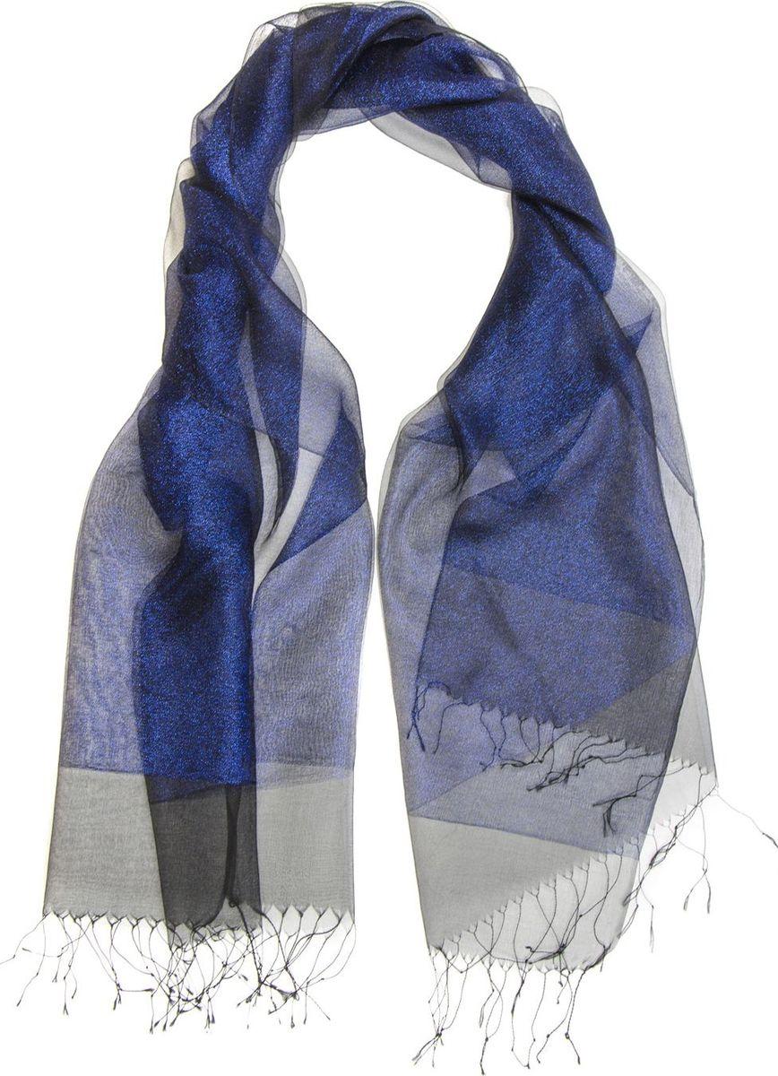 Палантин Laccom, цвет: синий. 3102. Размер 170 см х 70 см3102GПалантин от Laccom, выполненный из высококачественного материала, приятный на ощупь и подойдет к любому стилю. Палантин по краям дополнен бахромой.