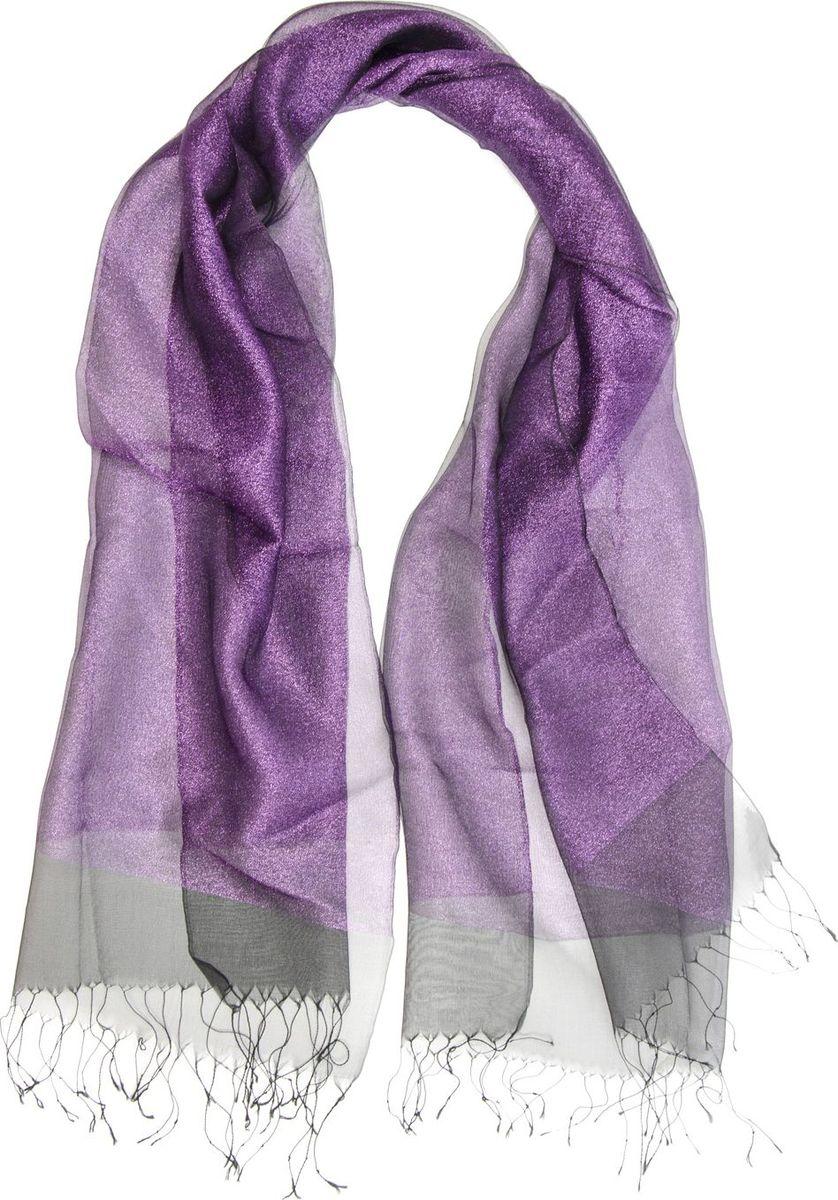 Палантин Laccom, цвет: фиолетовый. 3102. Размер 170 см х 70 см3102LПалантин от Laccom, выполненный из высококачественного материала, приятный на ощупь и подойдет к любому стилю. Палантин по краям дополнен бахромой.