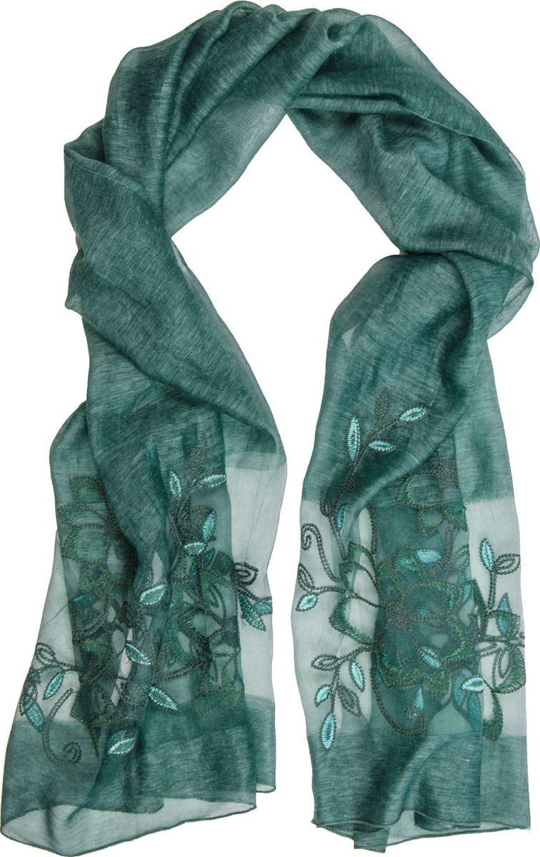 Палантин Laccom, цвет: зеленый. 3104. Размер 195 см х 80 см3104EПалантин от Laccom, выполненный из высококачественного материала, приятный на ощупь и подойдет к любому стилю.