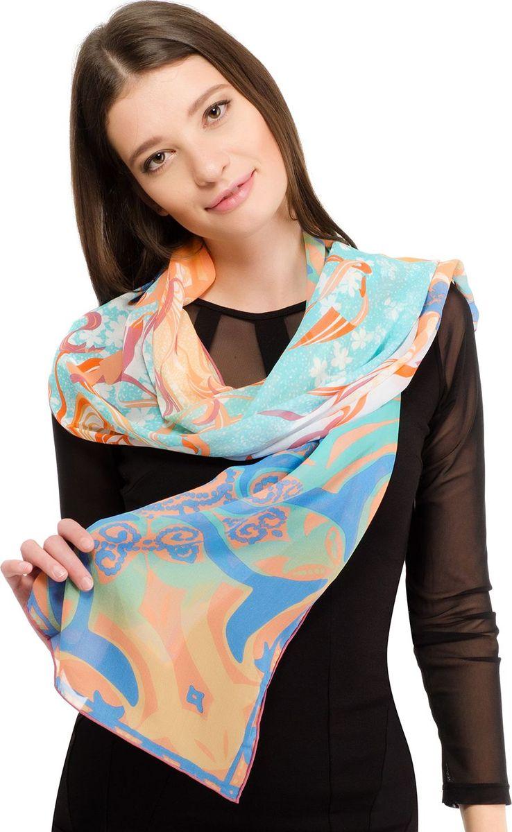 Шарф женский Laccom, цвет: голубой. 3112. Размер 180 см х 55 см3112IШарф от Laccom, выполненный из высококачественного материала, приятный на ощупь и подойдет к любому стилю.