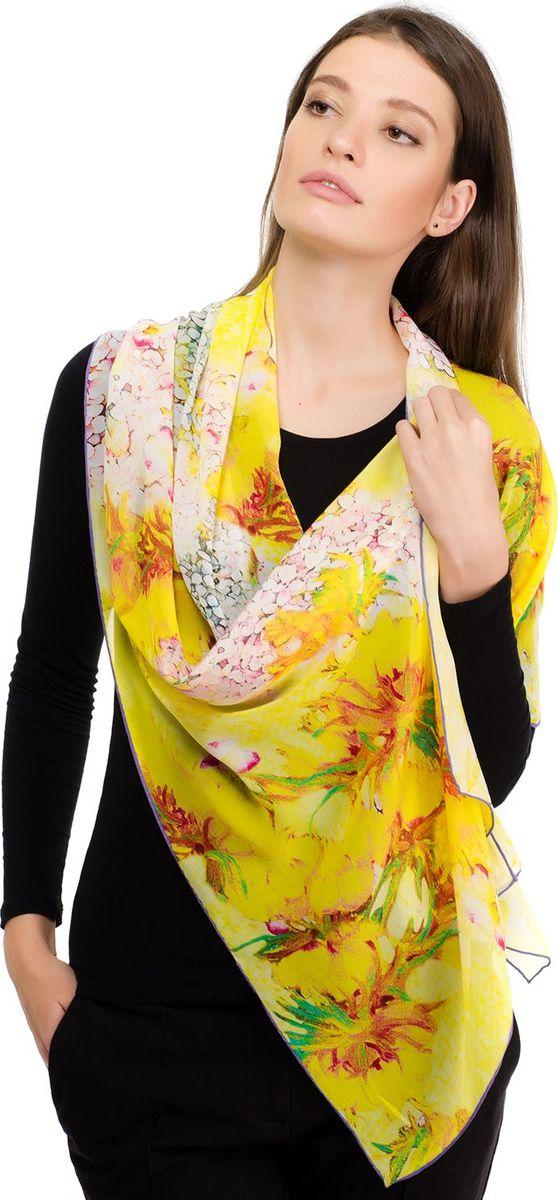 Шарф женский Laccom, цвет: желтый. 3119. Размер 180 см х 55 см3119JШарф от Laccom, выполненный из высококачественного материала, приятный на ощупь и подойдет к любому стилю.