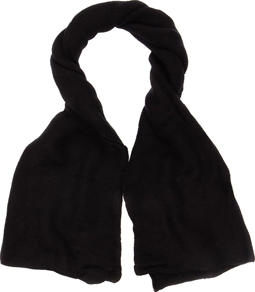 Шарф женский Laccom, цвет: черный. 3306. Размер 190 см х 70 см3306BШарф от Laccom, выполненный из высококачественного материала, приятный на ощупь и подойдет к любому стилю.