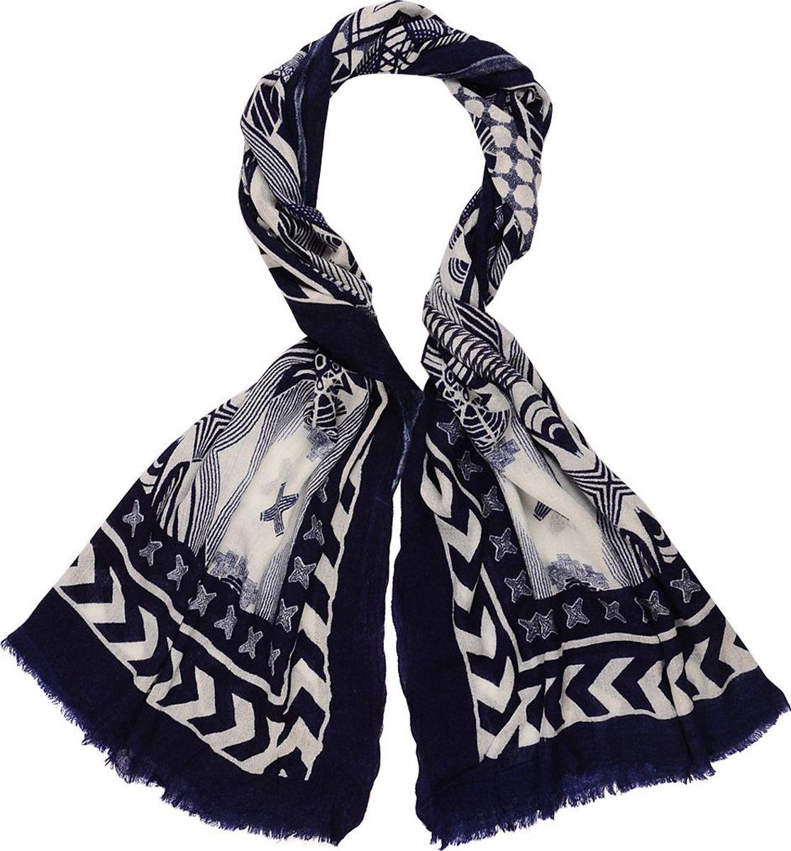 Палантин Laccom, цвет: темно-синий, серый. 3314. Размер 190 см х 90 см3314GПалантин от Laccom, выполненный из высококачественного материала, приятный на ощупь и подойдет к любому стилю.