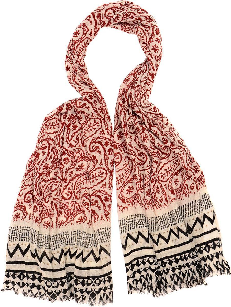 Палантин Laccom, цвет: красный. 3316. Размер 190 см х 90 см3316CПалантин от Laccom, выполненный из высококачественного материала, приятный на ощупь и подойдет к любому стилю. палантин модным стильным принтом.