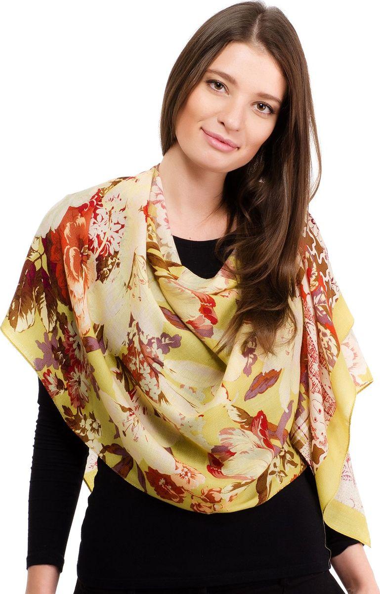 Шарф женский Laccom, цвет: оливковый. 3323. Размер 180 см х 55 см3323FШарф от Laccom, выполненный из высококачественного материала, приятный на ощупь и подойдет к любому стилю. Модель оформлена цветочным принтом.
