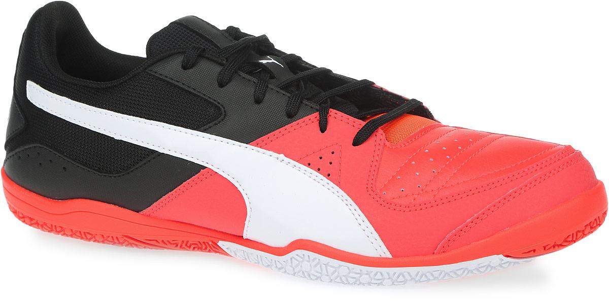Кроссовки для футзала мужские Puma Gavetto Sala, цвет: красный, черный. 10344411. Размер 7,5 (40) - Футбол