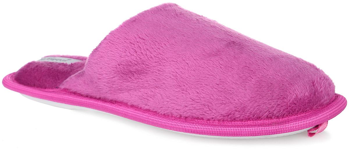 Тапки женские De Fonseca, цвет: фиолетовый. BASICDI75. Размер 35/36BASICDI75Женские ароматизированные тапки De Fonseca на нескользящей резиновой подошве. Модель выполнена из мягкого ворсистого текстиля.