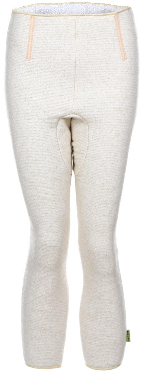 Леггинсы компрессионные Holty, цвет: бежевый. 040501-1800. Размер M (48/50)040501-1800Компрессионные согревающие леггинсы Holty выполнены из натуральной овечьей шерсти не дадут вам замерзнуть даже в самую холодную погоду. На талии они дополнены широкой резинкой, не сдавливающей живот.