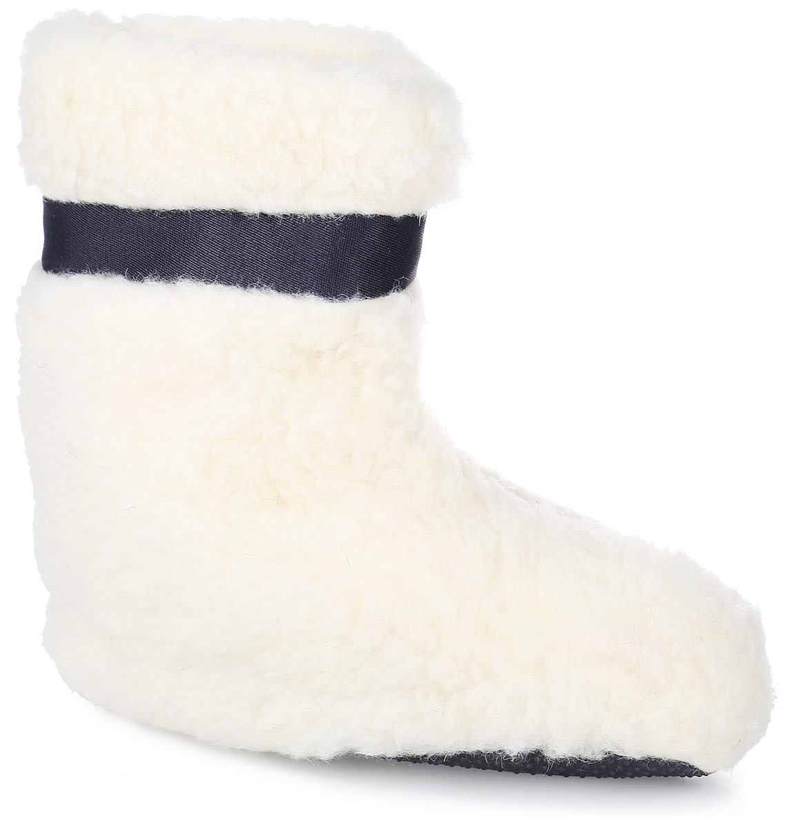 Тапки женские Smart textile, цвет: белый. Н453. Размер 36/37Н453Домашние тапки в виде сапожек изготовлены с применением натурального овечьего меха, обладающими хорошим согревающим свойством. Овечий мех вырабатывает полезное сухое тепло, не вызывает аллергии. Подошва сапожек изготовлена из ткани с ПВХ-покрытием (маленькие пупырышки), что препятствует скольжению и к тому же дополнительно массирует ступни ног, оказывая благотворный эффект на самочувствие.