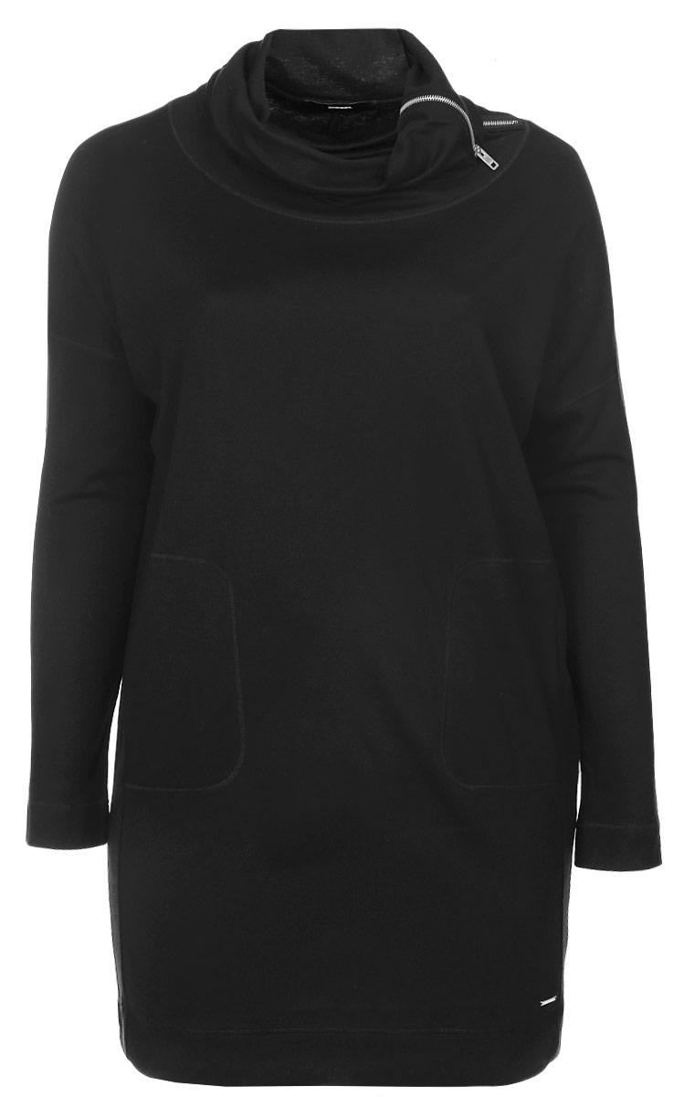 Платье Diesel, цвет: черный. 00SSAT-0PANC/900. Размер XL (52)