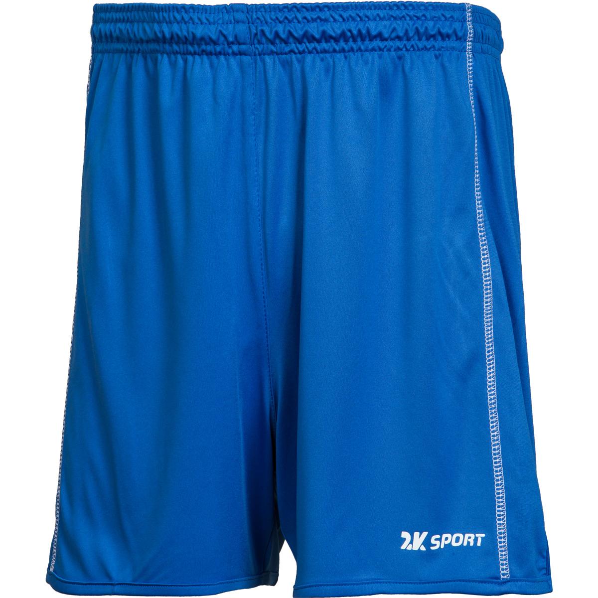 Шорты волейбольные мужские 2K Sport Energy, цвет: синий. 140041. Размер M (48)140041_royalВолейбольные шорты с контрастными полосами по бокам. Изготовлены из ткани повышенной прочности, дополнены эластичным поясом со шнурками.