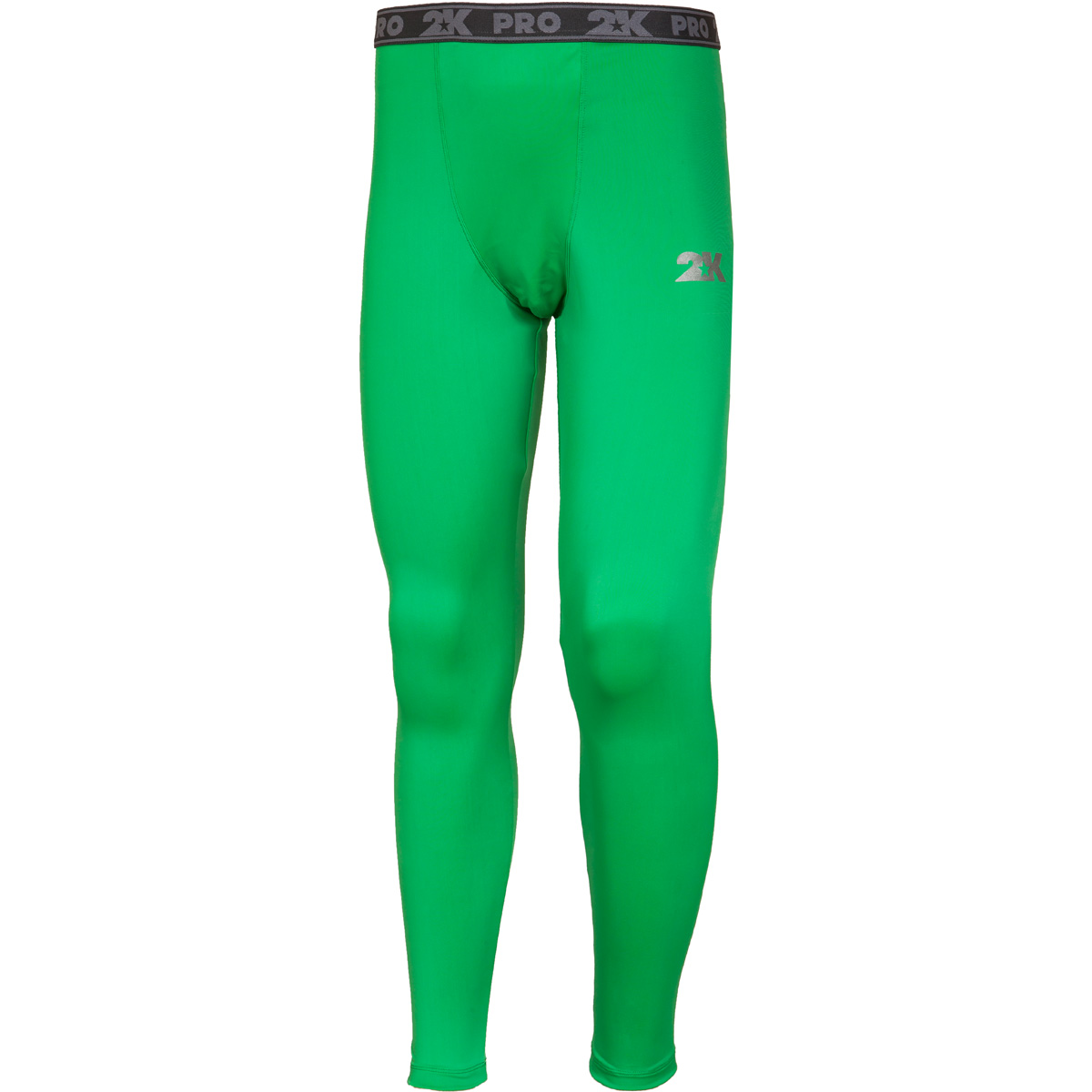 Тайтсы мужские 2K Sport Fenix, цвет: зеленый. 120905. Размер S (46)120905_greenТайтсы анатомического покроя выполнены из высококачественного материала. Обтягивающие тайтсы дополнены широкой эластичной резинкой на талии.