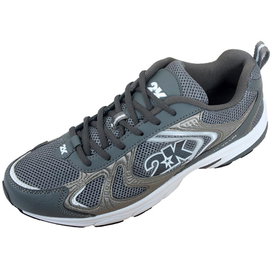 Кроссовки для бега 2K Sport Acvilon, цвет: темно-серый, серый. 115014. Размер 39,5