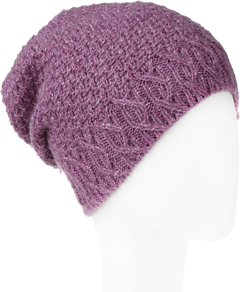 Шапка женская Marhatter, цвет: темно-розовый. MWH6766/2. Размер 56/58MWH6766/2Теплая женская шапка Marhatter отлично дополнит ваш образ в холодную погоду. Сочетание шерсти и акрила максимально сохраняет тепло и обеспечивает удобную посадку, невероятную легкость и мягкость. Подкладка выполнена из мягкого флиса.Удлиненная шапка выполнена вязкой с узорами и дополнена фирменной нашивкой с логотипом бренда.Модель составит идеальный комплект с модной верхней одеждой, в ней вам будет уютно и тепло.Уважаемые клиенты!Размер, доступный для заказа, является обхватом головы.