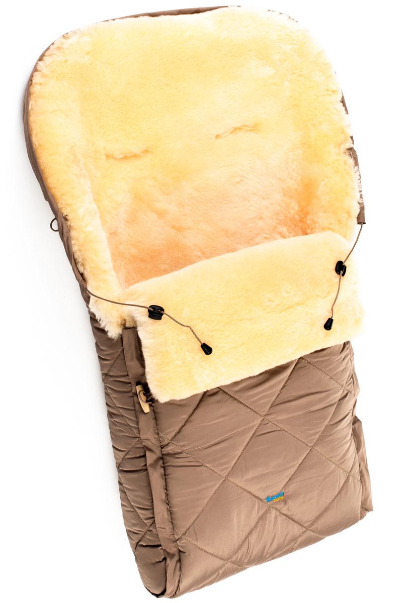 Конверт в коляску Ramili Baby Classic, цвет: коричневый. CL10BEIGE. Размер универсальный