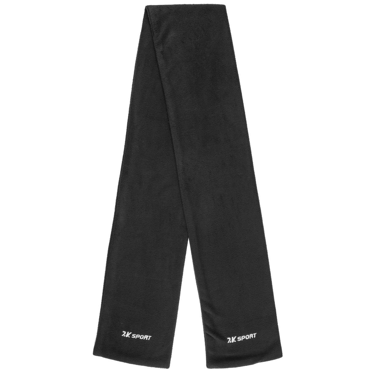 Шарф 2K Sport Classic, цвет: черный. 124035-2. Размер универсальный124035-2_blackТеплый флисовый шарф. Отлично защитит от холода.