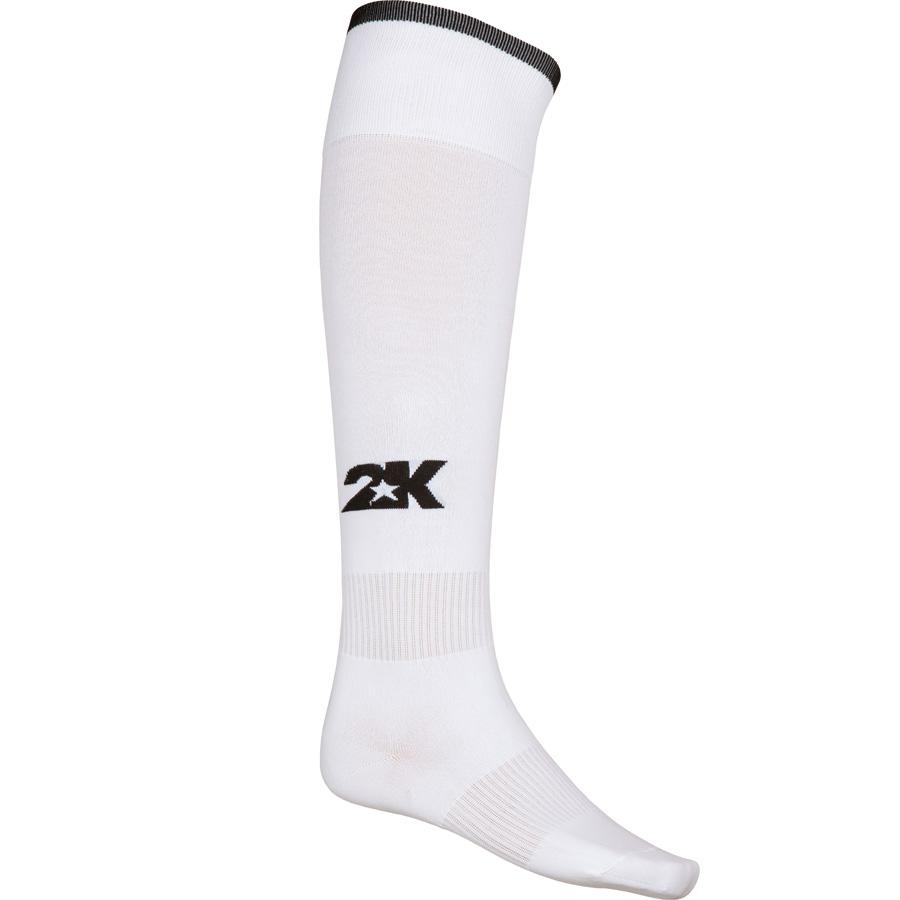 Гетры футбольные 2K Sport Classic, цвет: белый, черный. 120334. Размер 41/46120334_white/blackКлассические футбольные гетры выполнены из высококачественного материала. Оформлены логотипом бренда.