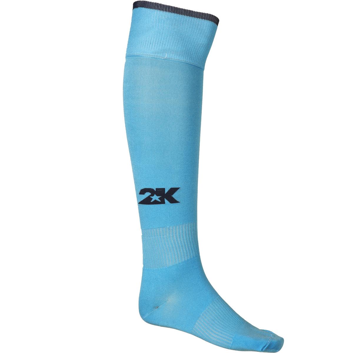 Гетры футбольные 2K Sport Classic, цвет: голубой, темно-синий. 120334. Размер 36/40120334_sky-blue/navyКлассические футбольные гетры выполнены из высококачественного материала. Оформлены логотипом бренда.