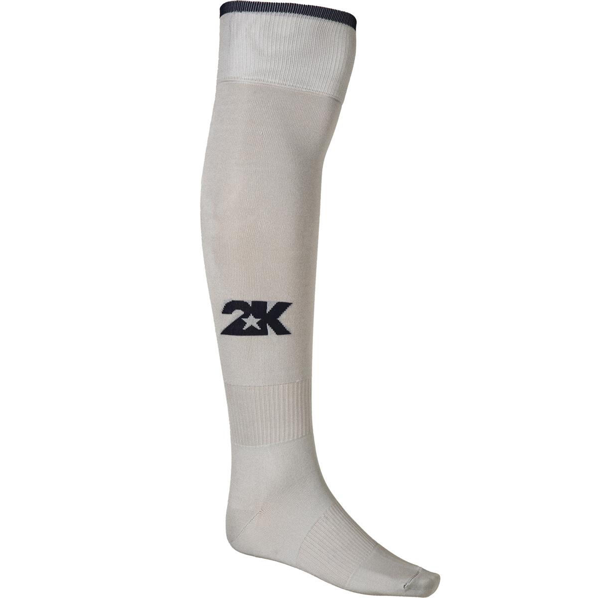 Гетры футбольные 2K Sport Classic, цвет: серебристый, темно-синий. 120334. Размер 36/40120334_silver/navyКлассические футбольные гетры выполнены из высококачественного материала. Оформлены логотипом бренда.