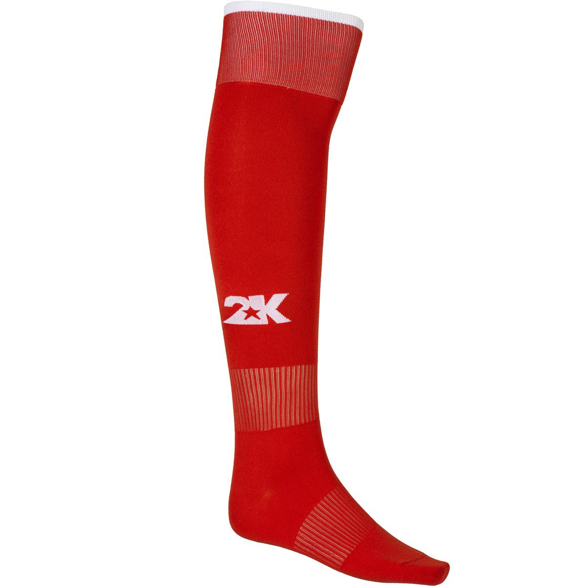 Гетры футбольные 2K Sport Classic, цвет: красный, белый. 120334. Размер 41/46120334_red/whiteКлассические футбольные гетры выполнены из высококачественного материала. Оформлены логотипом бренда.