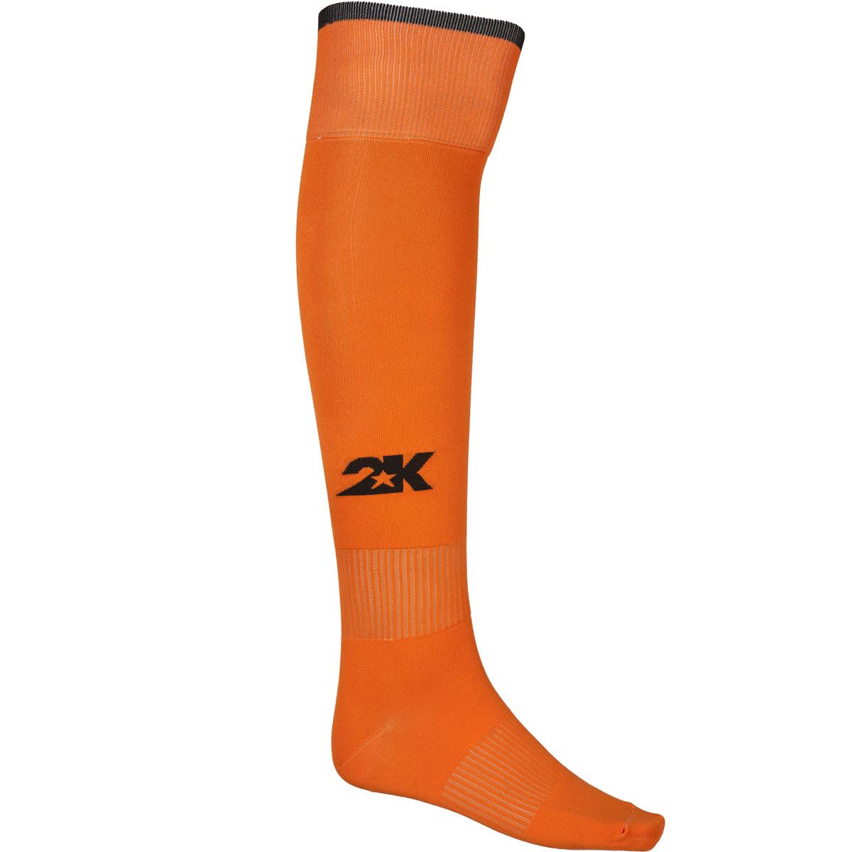 Гетры футбольные 2K Sport Classic, цвет: оранжевый, черный. 120334. Размер 41/46120334_orange/blackКлассические футбольные гетры выполнены из высококачественного материала. Оформлены логотипом бренда.