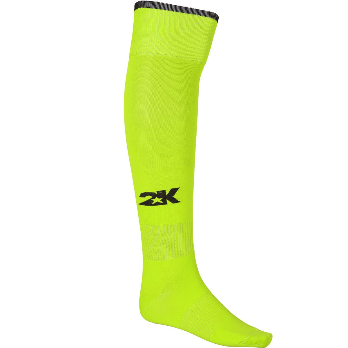 Гетры футбольные 2K Sport Classic, цвет: неоново-желтый, черный. 120334. Размер 36/40120334_neon-lemon/blackКлассические футбольные гетры выполнены из высококачественного материала. Оформлены логотипом бренда.