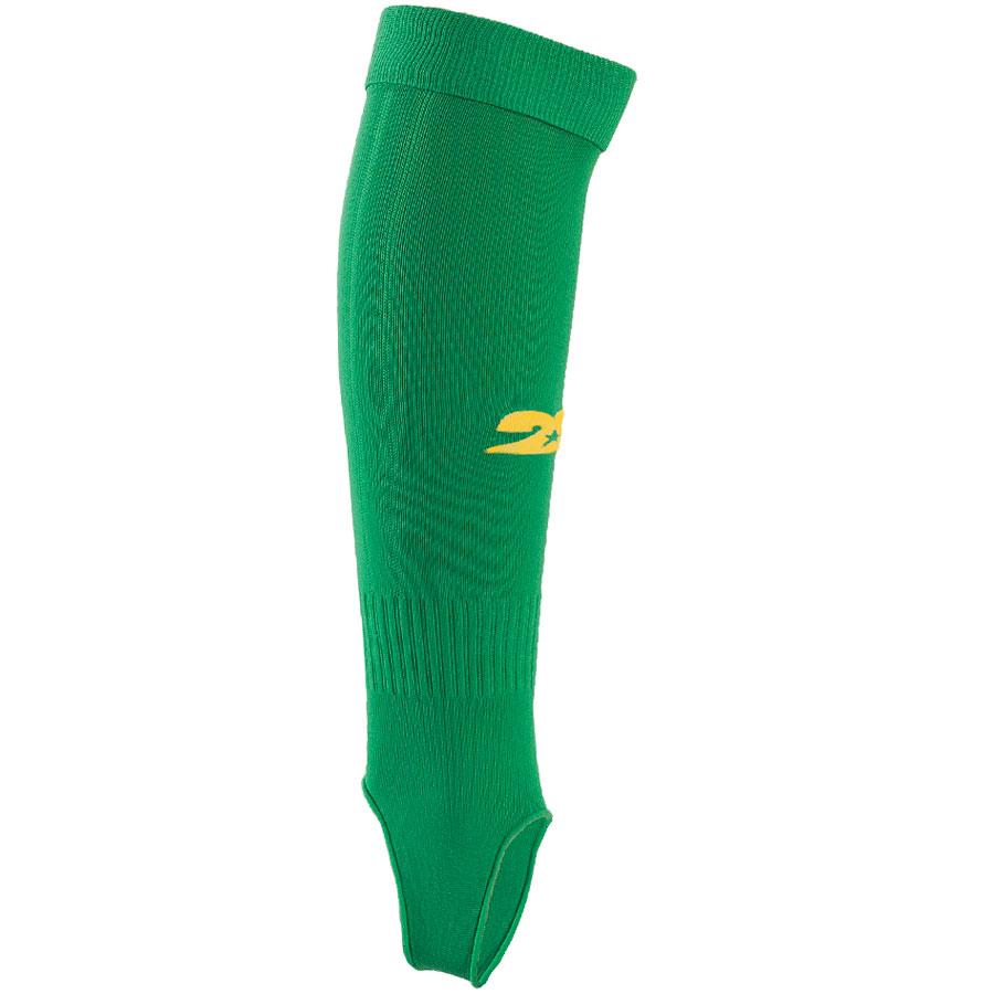 Гетры футбольные 2K Sport Redo, цвет: зеленый, желтый. 120330. Размер 41/46