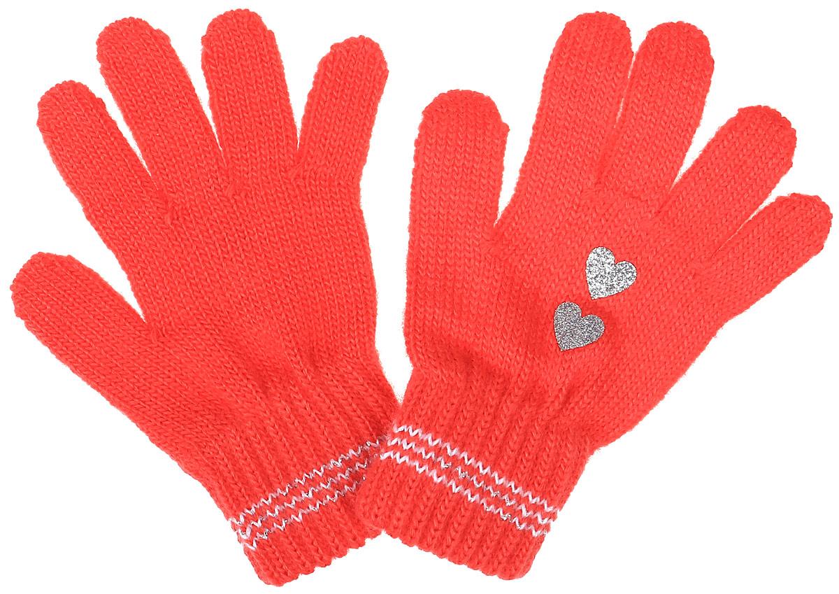 Перчатки для девочки Margot Bis Tunsel, цвет: коралловый. Tunsel-22. Размер 15/17, 8-14 летTunsel-22Уютные перчатки для девочки Margot Bis Tunsel идеально подойдут для прогулок в прохладное время года. Изготовленные из высококачественного акрила, очень мягкие и приятные на ощупь и хорошо сохраняют тепло. Стильные перчатки украшены стильным принтом. Верх модели на мягкой резинке, которая не стягивает запястья и надежно фиксирует перчатки на ручках ребенка.