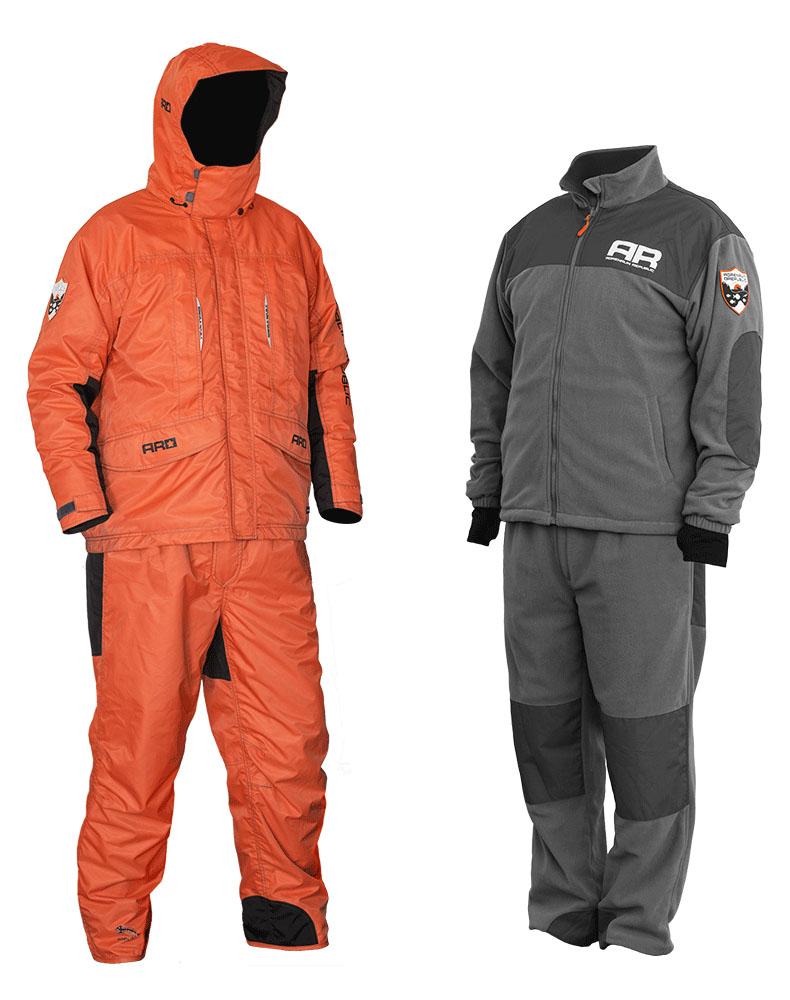 Костюм рыболовный Adrenalin Republic Jam 3in1, цвет: рыжий. 90170. Размер M (44/46)Jam 3in1Adrenalin Republic представляет новинку - демисезонный костюм JAM 3 in 1. Демисезонная одежда AR стала отражением традиционных ценностей марки – исключительное качество каждого материала, безупречность пошива и абсолютное удобство. И конечно, демисезонная одежда от Adrenalin Republic яркая, стильная и удобная! В демисезонной коллекции дизайнеры марки использовали актуальные цветовые сочетания и детали, благодаря чему каждая модель стала еще более выразительной и эффектной. Изюминкой коллекции стал комплект 3 в 1. Он состоит из куртки, брюк и флисового комплекта (куртка + брюки). Разумеется, в демисезонном костюме JAM 3 in 1 от Adrenalin Republic используются только лучшие, наиболее качественные ткани, и самая надежная фурнитура. Подстежка из флиса и ткань с водоотталкивающим покрытием надежно защитят Вас в любую непогоду, а традиционное для одежды Adrenalin Republic удобство моделей сделает их любимыми каждым покупателем! Водонепроницаемость: 5000 мм Дышащая способность: 5000 г/м2 Флисовая куртка и штаны : Входят в комплект костюма. Благодаря использованию системы застежек-молний, носимая отдельно флисовая куртка из комплекта JAM 3in1 легко и просто пристегивается к основной куртке для дополнительного удобства и возможности ношения в качестве теплой подстежки.