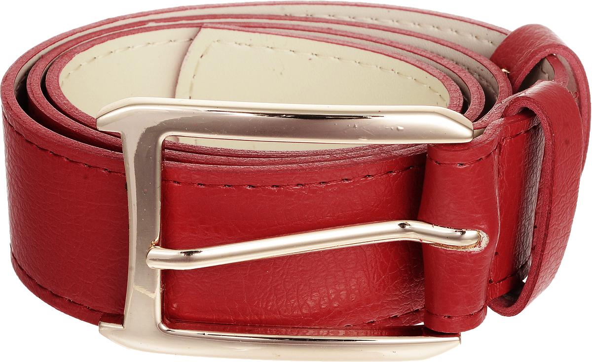 Ремень женский Vittorio Richi, цвет: красный. 4403-16/40z. Размер 1154403-16/40zСтильный широкий ремень Vittorio Richi выполнен из высококачественной экокожи зернистой текстуры. Пряжка, выполненная из металла, позволит легко и быстро зафиксировать ремень и отрегулировать его длину. Уважаемые клиенты! Обращаем ваше внимание на тот факт, что размер ремня, доступный для заказа, является его длиной.