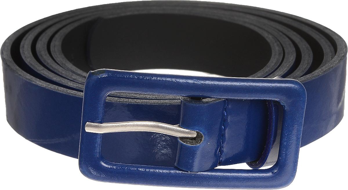 Ремень женский Vittorio Richi, цвет: темно-синий. 2213-3/20. Размер 1152213-3/20Элегантный тонкий ремень Vittorio Richi выполнен из высококачественной лаковой экокожи. Металлическая пряжка, оформленная накладкой из экокожи, позволит легко и быстро зафиксировать ремень и отрегулировать его длину. Уважаемые клиенты! Обращаем ваше внимание на тот факт, что размер ремня, доступный для заказа, является его длиной.