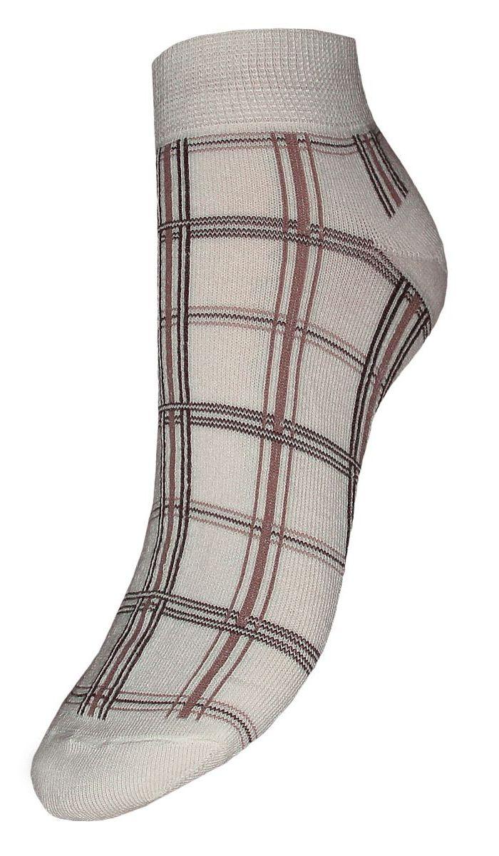 Носки женские Гранд, цвет: светло-серый, 2 пары. SCL20. Размер 23/25SCL20Женские носки Гранд выполнены из высококачественного хлопка, предназначены для повседневной носки. Носки с бесшовной технологией зашивки мыска (кеттельный шов), оформленные текстурным рисунком клетки, изготовлены по европейским стандартам из лучшей гребенной пряжи, хорошо держат форму и обладают повышенной воздухопроницаемостью, имеют безупречный внешний вид, усиленные пятку и мысок для повышенной износостойкости, после стирки не меняют цвет. Носки долгое время сохраняют форму и цвет, а так же обладают антибактериальными и терморегулирующими свойствами.