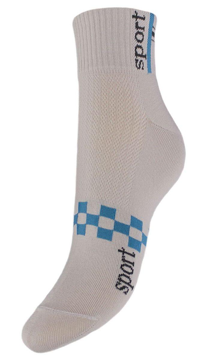 Носки женские Гранд, цвет: серый, 2 пары. SCL55. Размер 23/25SCL55Женские укороченные носки Гранд выполнены из высококачественного хлопка. Носки, оформленные на паголенке надписью sport, изготовлены по европейским стандартам из самой лучшей гребенной пряжи, имеют усиленные пятку и мысок для повышенной износостойкости. Функция отвода влаги позволяет сохранить ноги сухими. Благодаря свойствам эластана, не теряют первоначальный вид. Носки долгое время сохраняют форму и цвет, а так же обладают антибактериальными и терморегулирующими свойствами.