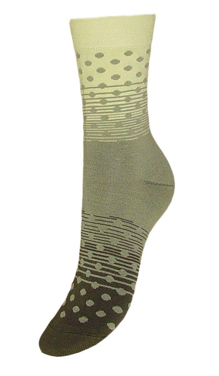 Носки женские Гранд, цвет: хаки, 2 пары. SCL57. Размер 23/25SCL57Женские носки Гранд выполнены из высококачественного хлопка, предназначены для повседневной носки. Носки, оформленные рисунком горох, изготовлены по европейским стандартам из лучшей гребенной пряжи, имеют классический паголенок, безупречный внешний вид, усиленные пятку и мысок для повышенной износостойкости, после стирки не меняют цвет. Носки долгое время сохраняют форму и цвет, а так же обладают антибактериальными и терморегулирующими свойствами.