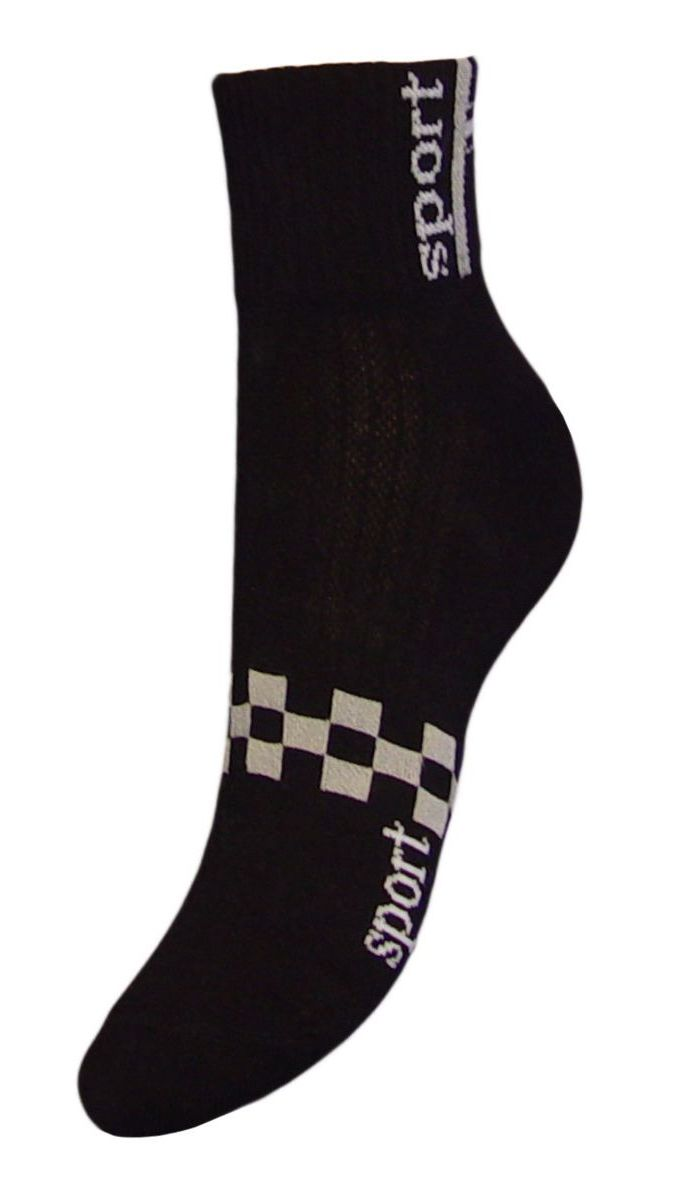 Носки женские Гранд, цвет: черный, 2 пары. SCL55. Размер 23/25SCL55Женские укороченные носки Гранд выполнены из высококачественного хлопка. Носки, оформленные на паголенке надписью sport, изготовлены по европейским стандартам из самой лучшей гребенной пряжи, имеют усиленные пятку и мысок для повышенной износостойкости. Функция отвода влаги позволяет сохранить ноги сухими. Благодаря свойствам эластана, не теряют первоначальный вид. Носки долгое время сохраняют форму и цвет, а так же обладают антибактериальными и терморегулирующими свойствами.
