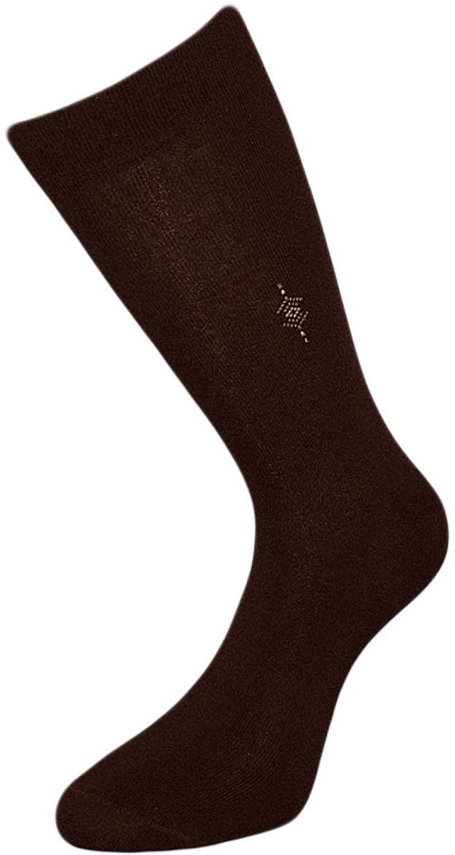 Носки мужские Гранд, цвет: темно-коричневый, 2 пары. ZCL112. Размер 29/31ZCL112Мужские носки Гранд выполнены из хлопка и оформлены мелким рисунком на паголенке, для повседневной носки. Носки с бесшовной технологией зашивки мыска (кеттельный шов) хорошо держат форму и обладают повышенной воздухопроницаемостью, после стирки не меняют цвет, имеют безупречный внешний вид, усиленные пятку и мысок для повышенной износостойкости, благодаря свойствам эластана, не теряют первоначальный вид. Носки произведены по европейским стандартам на современных вязальных автоматах.