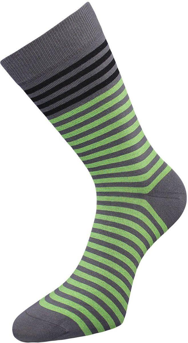 Носки мужские Гранд, цвет: серый, лайм, 2 пары. ZCL85. Размер 25/27ZCL85Классические мужские носки Гранд выполнены из высококачественного хлопка, для повседневной носки. Носки имеют кеттельный шов (плоский), усиленные пятку и мысок, анатомическую резинку. Модель оформлена полосками. Носки долгое время сохраняют форму и цвет, а так же обладают антибактериальными и терморегулирующими свойствами.