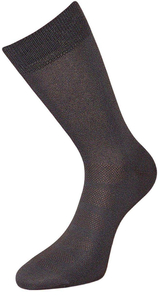 Носки мужские Гранд, цвет: серый, 2 пары. ZC111. Размер 29ZC111Классические мужские носки Гранд выполнены из высококачественного хлопка, для повседневной носки. Основа материала - высококачественный хлопок. Носки с бесшовной технологией зашивки мыска (кеттельный шов) хорошо держат форму и обладают повышенной воздухопроницаемостью, имеют безупречный внешний вид, усиленные пятку и мысок для повышенной износостойкости, после стирки не меняют цвет. Носки долгое время сохраняют форму и цвет, а так же обладают антибактериальными и терморегулирующими свойствами.