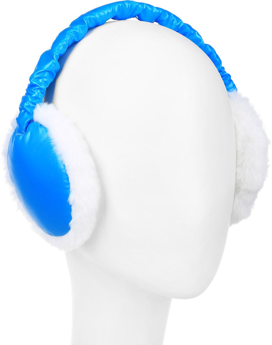Наушники женские Herman, цвет: голубой, белый. S9120. Размер 52/59S9120Уютные и теплые наушники Herman - оригинальный аксессуар, который согреет в прохладные дни и подчеркнет вашу индивидуальность.Классическая форма наушников удобна своей крепкой посадкой на голове. Модель легко складывается и помещается в кармане. Удобные и стильные наушники Herman выделят вас из толпы и защитят от холода.