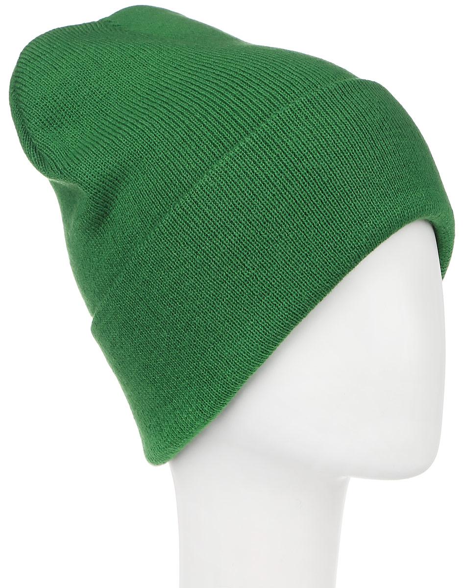 Шапка Ignite, цвет: зеленый. 016 CUFF. Размер 54/56016 CUFFТеплая шапка Ignite выполнена из высококачественного акрила. Шапка с отворотом оформлена в лаконичном однотонном стиле и дополнена оригинальными нашивками с логотипом бренда. Уважаемые клиенты!Размер, доступный для заказа, является обхватом головы.