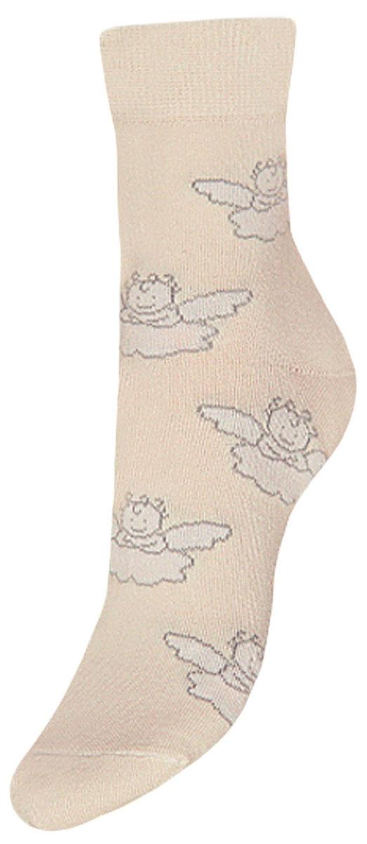 Носки детские Гранд, цвет: кремовый, 2 пары. TCL5. Размер 22/24TCL5Подростковые носки выполнены из высококачественного хлопка, предназначены для повседневной носки. Носки с текстурным рисунком ангелочки имеют безупречный внешний вид, после стирки не меняют цвет, усилены пятка и мысок для повышенной износостойкости, функция отвода влаги позволяет сохранить ноги сухими, благодаря свойствам эластана, не теряют первоначальный вид. Носки долгое время сохраняют форму и цвет, а так же обладают антибактериальными и терморегулирующими свойствами.